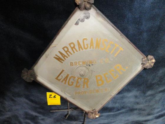 Narragansett Lager Beer Shaving Mirror