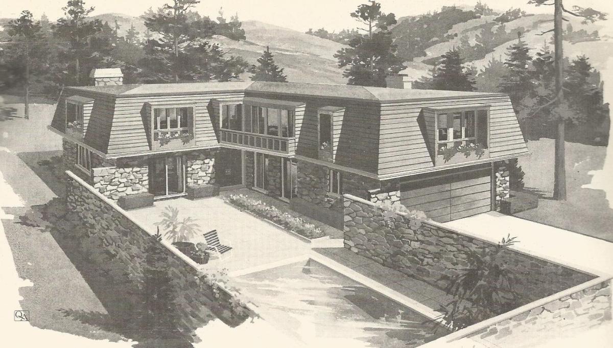 Vintage House Plans 1970s Contemporary Designs