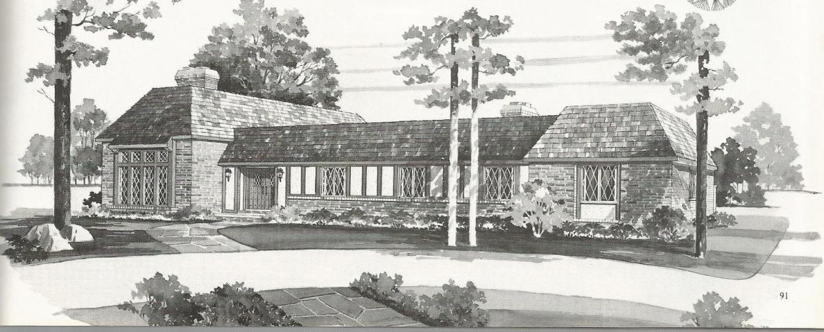 Vintage House Plans Luxurious Tudor Style Homes