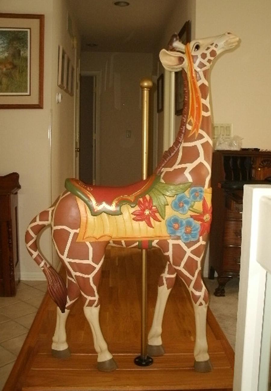 Ismael Serano Mexican Giraffe Sold Antiquecarousels Com