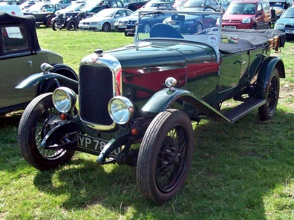 Antique Cars - Cylinders & Horsepower