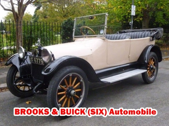 Compare Old School Classic Cars Brooks and Buick Models