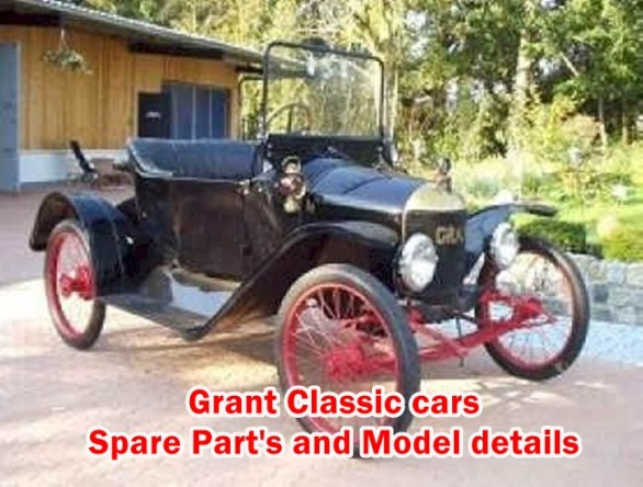 Old School Cars - Grant Classic