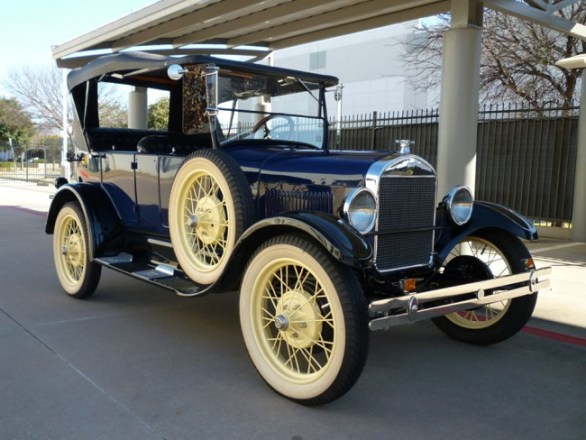 The Cooling System consists of Ford Antique Cars -The Radiator and Connections,Water Jackets around cylinders and valves,Water Pump and The Fan.