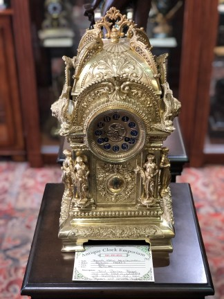 French Iconic Architectural Clock