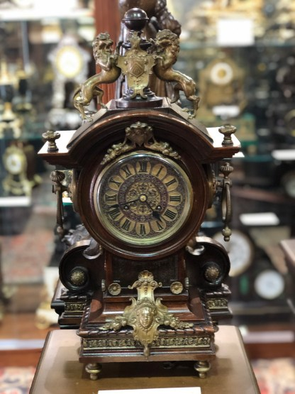 Victorian Walnut Case clock