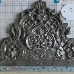 Lead case ornaments unfinished