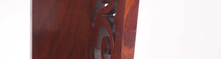 Victorian Walnut Hanging Cabinet Bathroom Cabine