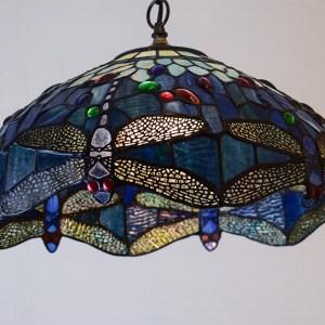 Tiffany-style Hanging Light