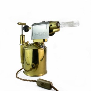 Swedish Blow Torch Table Lamp