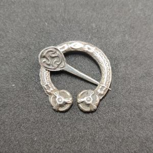 Early Scottish Silver Penannular Brooch