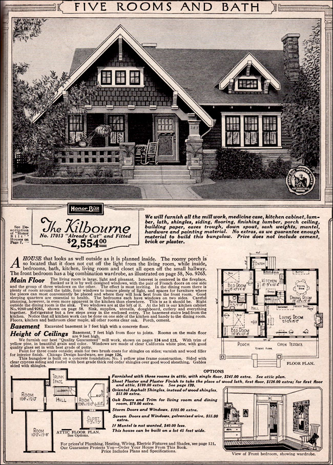 SEARS CRAFTSMAN HOUSE PLANS Unique House Plans
