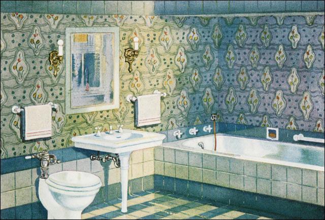 1920 Bathroom Design Images