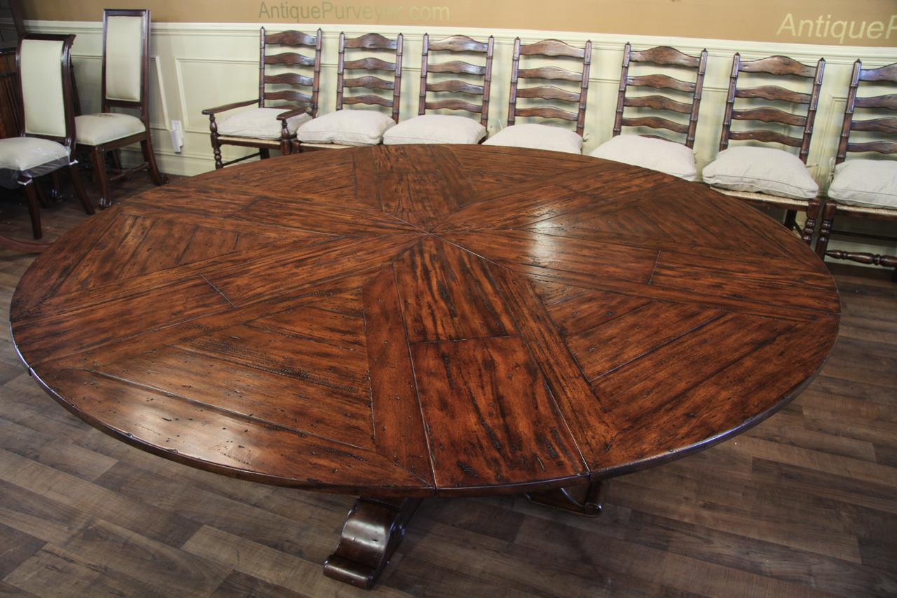 Jupe Hidden Leaf Dining Table