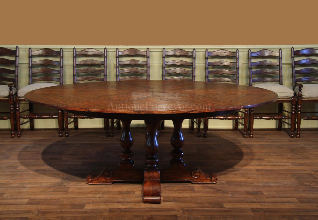 Jupe Hidden Leaf Dining Table