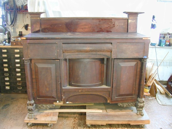 Antique Furniture Restoration Meeting House Furniture Restoration