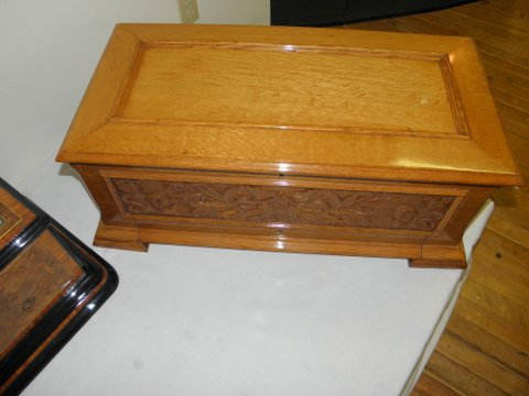 Music Box Refinishing - After