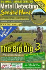 Third Annual Seeded Hunt - Antiques Detectors