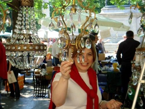 The Antiques Diva, Toma Clark Haines, Paris flea market