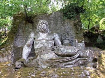 parco mostri, italian garden tours