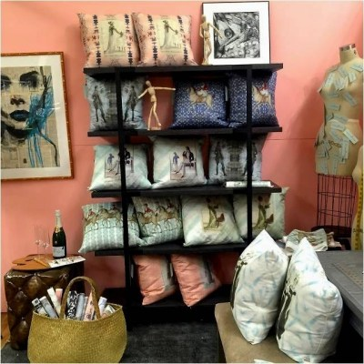 Root Cellar Designs, Tamara Matthews Stephenson, Nest by Tamara, Modenus, Blog Tour Milan, The Antiques Diva, Custom textiles, Susan Young,