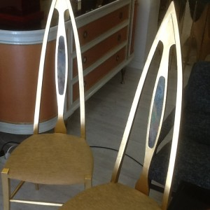 Mid Century in Florence unique chairs