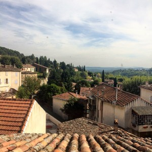 An Afternoon in Cotignac Provence rooftops