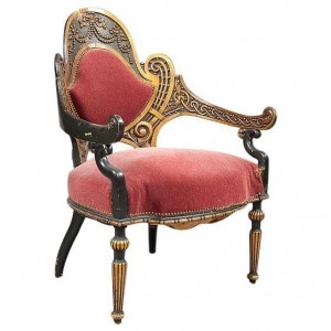 Antiques Diva Styles a Diva Den for Chairish movement chair
