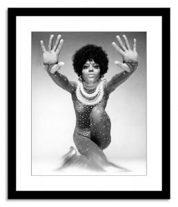 Diana Ross Framed photo