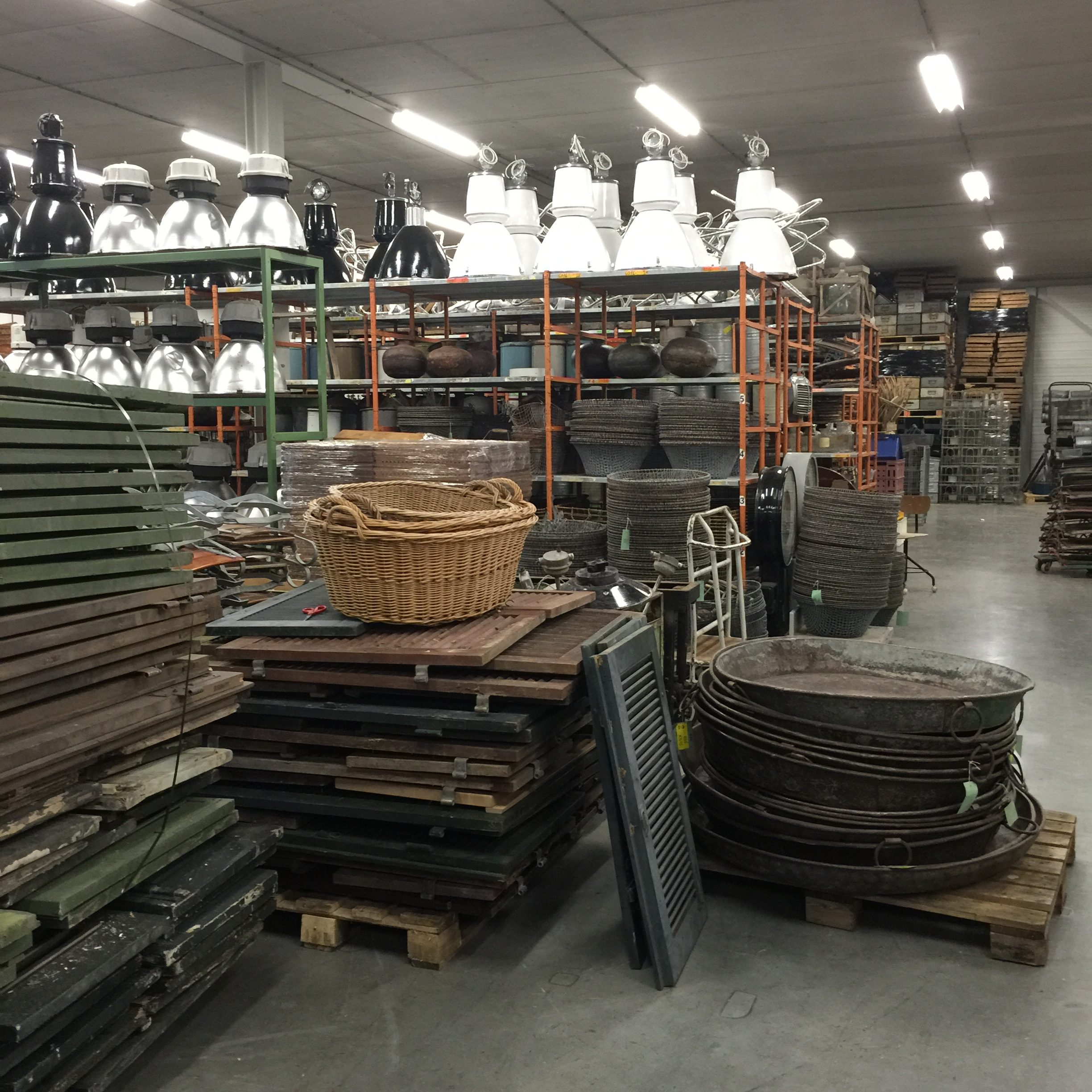 Industrial and vintage finds in Holland