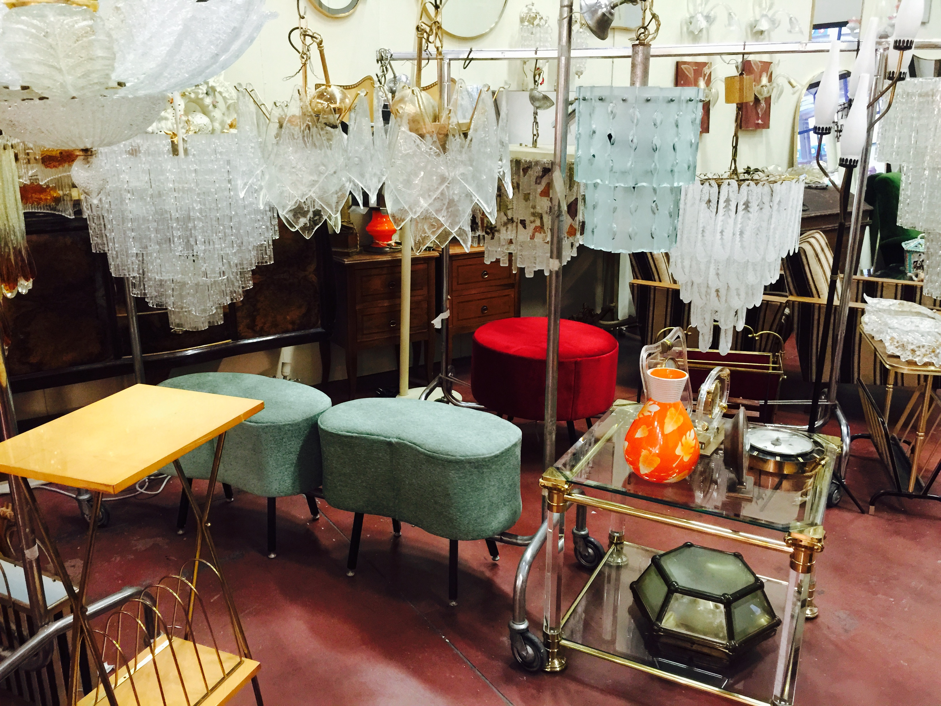 mid centruy modern and vintage finds in Italy with The Antiques Diva