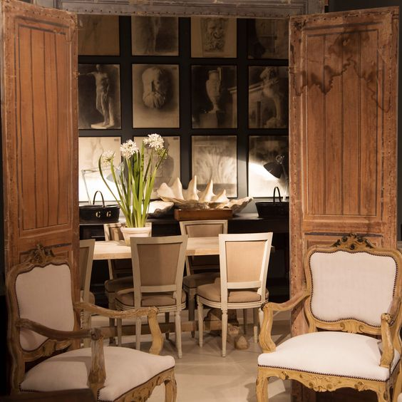 sourcing French antiques in England