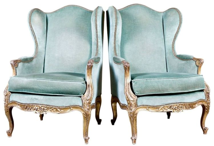 Lolo French Antiques Louis XV Style Bergeres - Identifying French Furniture Periods