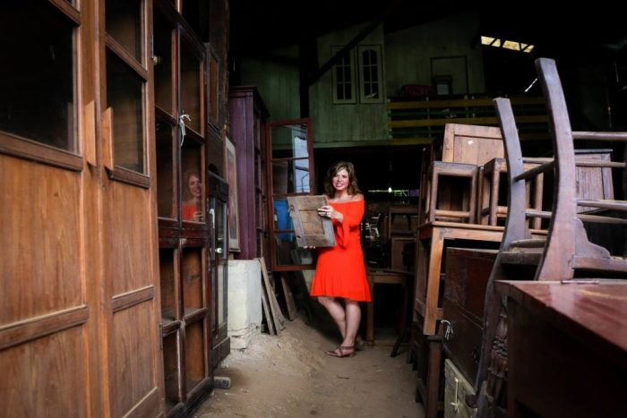 Colonial-era Teak Furniture, Yangon, Myanmar (Burma) Asia Antiques Buying Tours with The Antiques Diva