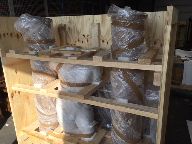 AD&CO Logistics custom crating, packing and international antiques shipping