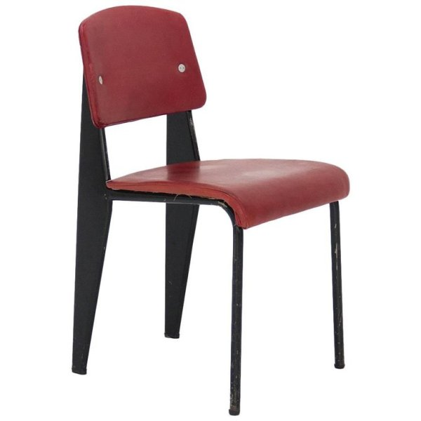 Standard Chair Designed by Jean Prouvé, circa 1950, France on 1st Dibs