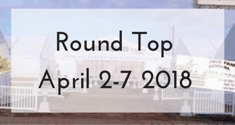 Special 1st-Ever Group Antiques Tour to Round Top Texas Flea Market - Round Top Texas