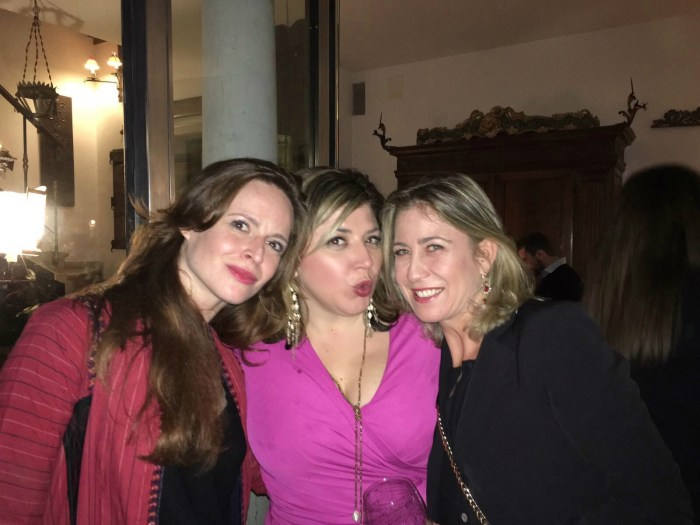 An American Thanksgiving in Paris   Chiara, Orseola and Toma   The Antiques Diva