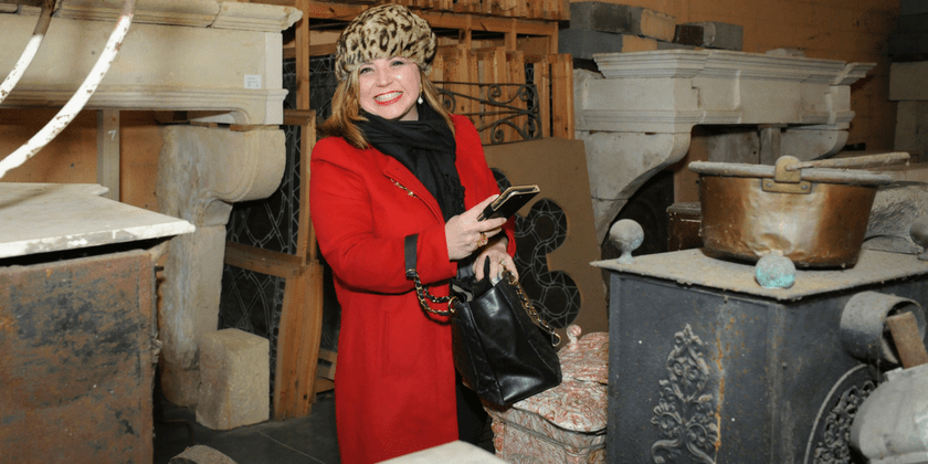 Architectural Salvage: Sexy, Modern and Eco-Friendly | Toma Clark Haines | The Antiques Diva & Co