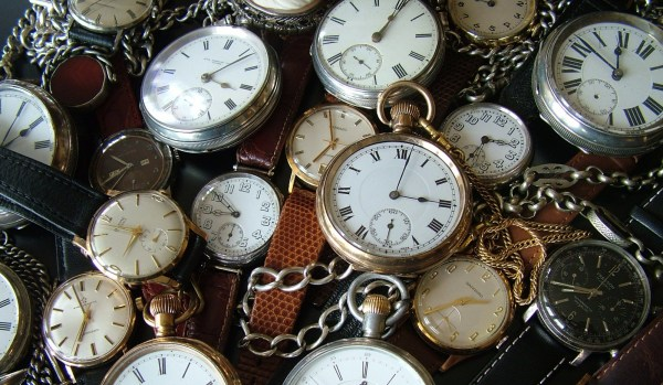 vintage watches from The Vintage Wrist Watch Company