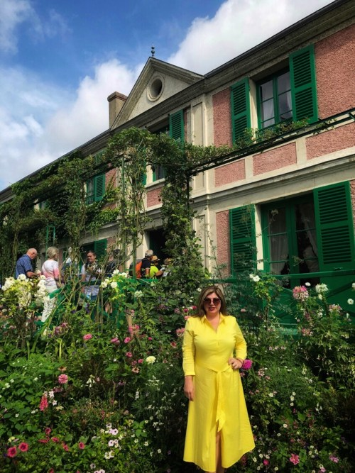 Toma at Giverny | Auntie Toma's Modern Day Grand European Tour | Toma Clark Haines | The Antiques Diva & Co