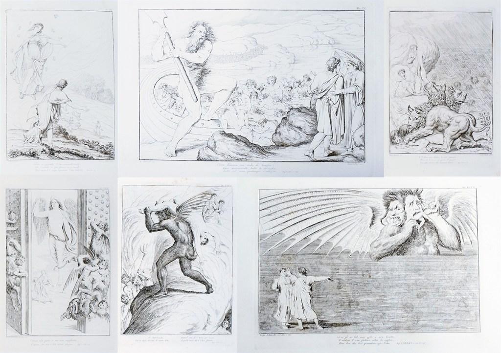 ダンテ-神曲-フィレンツェ-アンコラ本-1817-1819年-4巻揃い [2]
