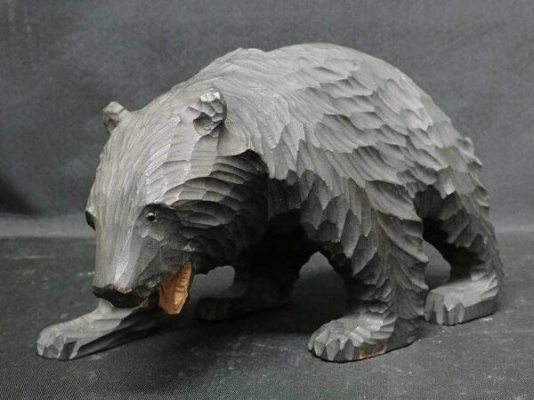 アイヌ木彫り熊 ガラス目