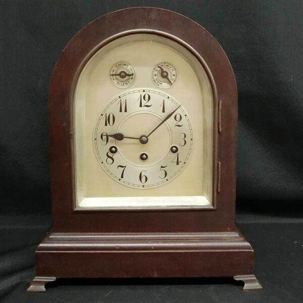 ユンハンス ゼンマイ式 置き時計
