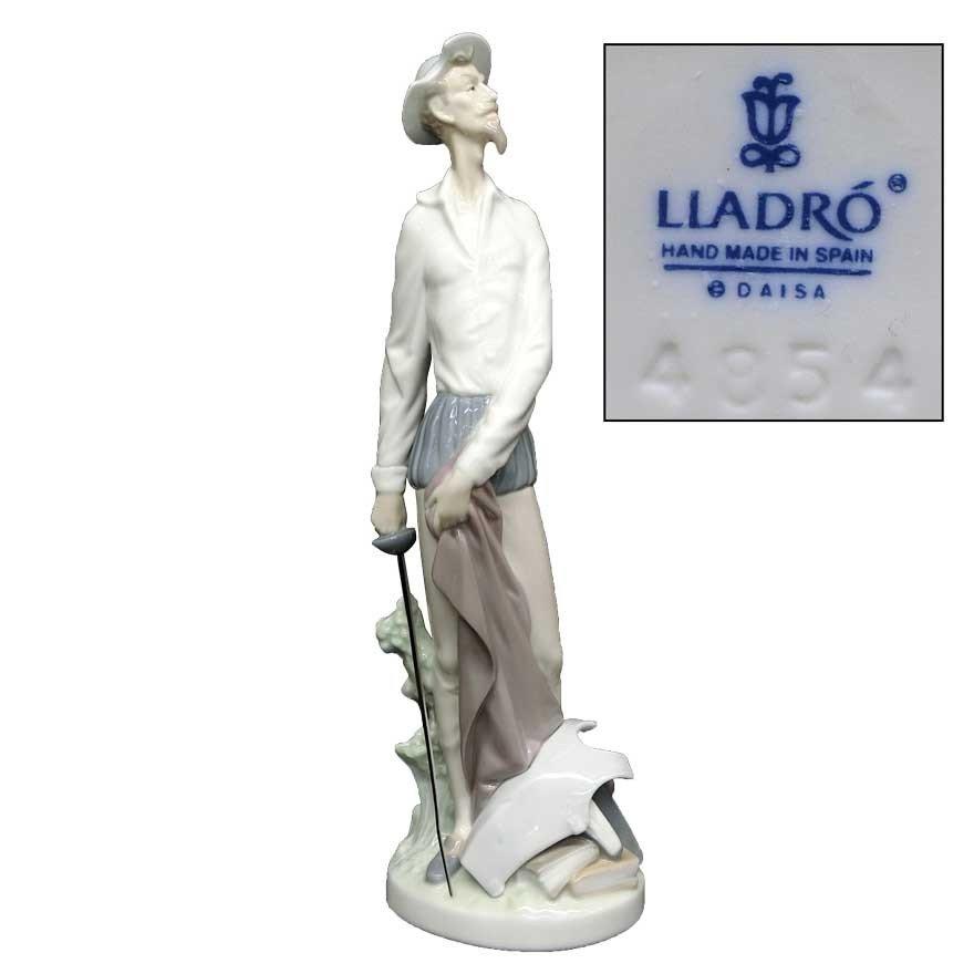 リヤドロ(lladro) DAISA フィギュリン ドン・キホーテ 陶器人形