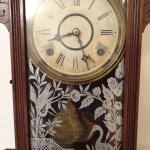 Antique William Lewis Gilbert Mantle Clock (2)