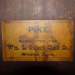 Antique William Lewis Gilbert Mantle Clock