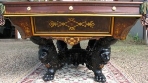 ANTIQUE VICTORIAN POOL TABLE