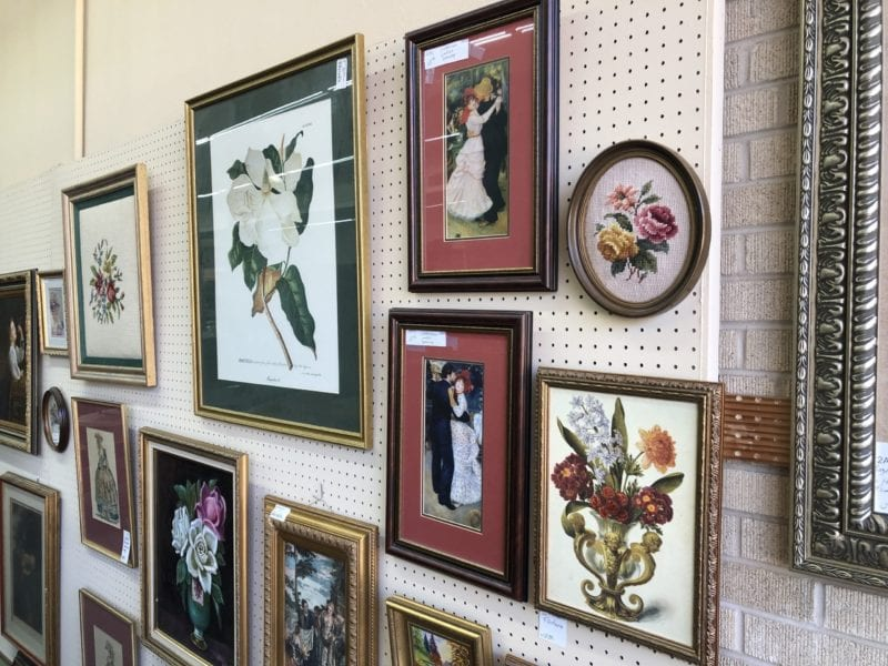 AE Needlepoint, antique and vintage pitctures