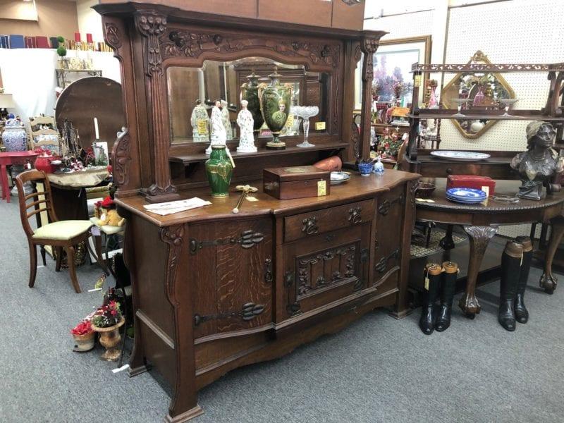 Antique fine furniture Sideboard